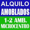 alquiler amoblados microcentro 2 ambientes